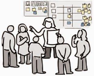 Scrum Diario en Organización
