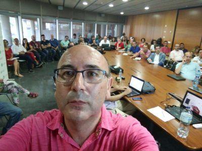Selfie en plena ponencia