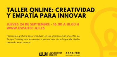 Taller Online Creatividad y empatía
